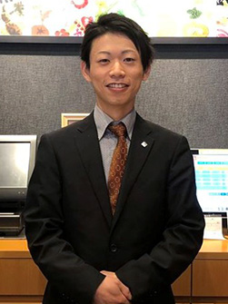 総合職・リーダー 横井大和